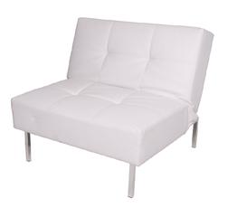 2-Place Loft Sofa - White